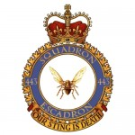 Badge for 443 Squadron
