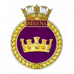 Badge for HMCS Regina